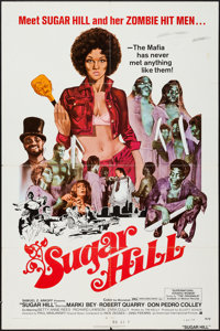 "Sugar Hill (American International, 1974). One Sheet (27"" X 41""). Blaxploitation"