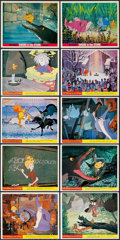 "Movie Posters:Animation, The Sword in the Stone (Buena Vista, 1963). British Front of House Color Photos (10) (8"" X 10""). Animation.. ... (Total: 10 Items)"
