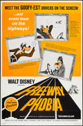 "Movie Posters:Animated, Freeway Phobia (Buena Vista, 1965). One Sheet (27"" X 41"").Animated.. ..."