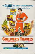 """Movie Posters:Animation, Gulliver's Travels (NTA, R-1957). One Sheet (27"""" X 41""""). Animation.. ..."""