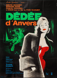 "Dedee D'Anvers (Co Fra Dis, R-1960). French Grande (47"" X 63""). Drama"