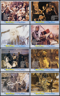 """Monty Python and the Holy Grail (EMI, 1975). British Front of House Set of 8 (8"""" X 10"""") & Program (4 Pages..."""