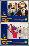 "Movie Posters:Animation, Yellow Submarine (United Artists, 1968). Lobby Cards (2) (11"" X 14""). Animation.. ... (Total: 2 Items)"