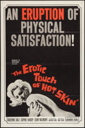 "Movie Posters:Sexploitation, Erotic Touch of Hot Skin (Audubon, 1964). One Sheet (27"" X 41"").Sexploitation.. ..."
