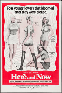 """Initiation (Cinepix Film Properties, 1970). One Sheet (27"""" X 41""""). Sexploitation. Alternate Title: Here and No..."""