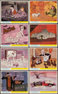 "Movie Posters:Animation, 101 Dalmatians (Walt Disney Productions, 1961). British Front ofthe House Color Photo Set of 8 (8"" X 10""). Animation.. ... (Total:8 Items)"