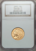 Indian Half Eagles: , 1909 $5 MS62 NGC. NGC Census: (2269/1285). PCGS Population(1464/1320). Mintage: 627,138. Numismedia Wsl. Price for problem...