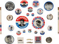 Political:Pinback Buttons (1896-present), John F. Kennedy: Kennedy Campaign Button Collection, 1960....