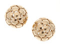 Estate Jewelry:Earrings, Gold Ball Earrings. ...
