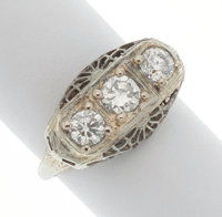 Diamond, White Gold Ring