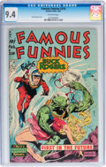 Golden Age (1938-1955):Science Fiction, Famous Funnies #210 (Eastern Color, 1954) CGC NM 9.4 Off-whitepages....