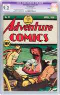 Golden Age (1938-1955):Adventure, Adventure Comics #37 Trimmed (DC, 1939) CGC Apparent NM- 9.2 Cream to off-white pages....