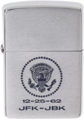 Political:3D & Other Display (1896-present), John F. Kennedy: Christmas Lighter Presidential Gift, 1962,...