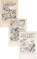 Golden Age (1938-1955):Miscellaneous, Harvey Subscriber Copy Comics Group (Harvey, 1947).... (Total: 4 Comic Books)