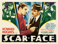 "Scarface (United Artists, 1932). Half Sheet (22"" X 28"")"