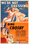 "Movie Posters:Comedy, We're Not Dressing (Paramount, 1934). One Sheet (27"" X 41"").. ..."