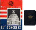 Books:Americana & American History, John F. Kennedy: Congressional Directories, 1949 AND 1951,...(Total: 3 Items)