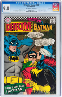 Detective Comics #363 Pacific Coast pedigree (DC, 1967) CGC NM/MT 9.8 Off-white to white pages