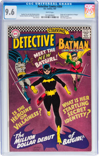 Detective Comics #359 (DC, 1967) CGC NM+ 9.6 White pages