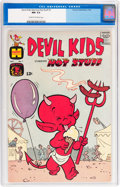 Silver Age (1956-1969):Humor, Devil Kids Starring Hot Stuff #1 (Harvey, 1962) CGC NM 9.4 Cream to off-white pages....