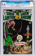 Bronze Age (1970-1979):Superhero, Green Lantern #79 (DC, 1970) CGC NM/MT 9.8 White pages....
