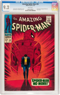 Silver Age (1956-1969):Superhero, The Amazing Spider-Man #50 (Marvel, 1967) CGC NM- 9.2 Whitepages....