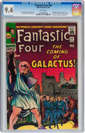 Silver Age (1956-1969):Superhero, Fantastic Four #48 (Marvel, 1966) CGC NM 9.4 White pages....