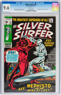 Bronze Age (1970-1979):Superhero, The Silver Surfer #16 (Marvel, 1970) CGC NM+ 9.6 White pages....