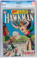 Silver Age (1956-1969):Superhero, Hawkman #1 (DC, 1964) CGC NM 9.4 Off-white to white pages....