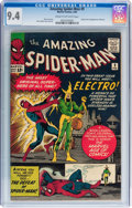 Silver Age (1956-1969):Superhero, The Amazing Spider-Man #9 (Marvel, 1964) CGC NM 9.4 Cream tooff-white pages....