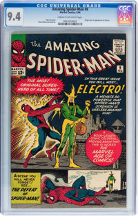 The Amazing Spider-Man #9 (Marvel, 1964) CGC NM 9.4 Cream to off-white pages