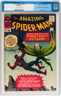 Silver Age (1956-1969):Superhero, The Amazing Spider-Man #7 (Marvel, 1963) CGC NM 9.4 Off-white towhite pages....