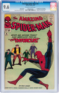 Silver Age (1956-1969):Superhero, The Amazing Spider-Man #10 (Marvel, 1964) CGC NM+ 9.6 Off-white towhite pages....