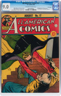 Golden Age (1938-1955):Superhero, All-American Comics #17 Billy Wright pedigree (DC, 1940) CGC VF/NM 9.0 Off-white to white pages....