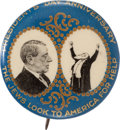 "Political:Pinback Buttons (1896-present), Woodrow Wilson: ""The Jews Look to America for Help"". ..."