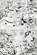 "Original Comic Art:Panel Pages, Jack Kirby and Joe Sinnott Fantastic Four #78 ""The Thing NoMore"" Page 6 Original Art (Marvel, 1968)...."