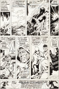 Original Comic Art:Panel Pages, John Byrne and Dan Adkins Iron Fist #13 Page 31 Original Art(Marvel, 1977)....