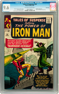 Tales of Suspense #54 Twin Cities pedigree (Marvel, 1964) CGC NM+ 9.6 Off-white to white pages