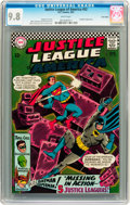 Silver Age (1956-1969):Superhero, Justice League of America #52 Twin Cities pedigree (DC, 1967) CGC NM/MT 9.8 White pages....