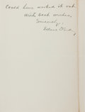 """Autographs:Celebrities, Edsel Ford Autograph Letter Signed. Three integral pages, 5.75"""" x7.75"""", on his personal letterhead, Dearborn [Michigan], No..."""