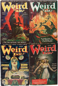 Pulps:Horror, Weird Tales Group (Popular Fiction, 1945-46) Condition: AverageVG/FN.... (Total: 12 Items)