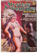 Pulps:Adventure, Mystery Adventure Magazine - August '36 (Fiction Magazines, 1936) Condition: VG/FN....