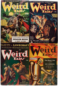 Pulps:Horror, Weird Tales Group (Popular Fiction, 1941-42) Condition: Average VG/FN.... (Total: 12 Items)