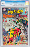 Silver Age (1956-1969):Superhero, The Brave and the Bold #54 Kid Flash, Robin, and Aqualad (DC, 1964)CGC NM+ 9.6 Off-white pages....