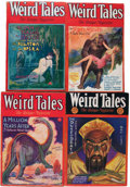 Pulps:Horror, Weird Tales - Robert E. Howard Kull/Bran Mak Morn Group (PopularFiction, 1929-32) Condition: Average VG+.... (Total: 6 Items)