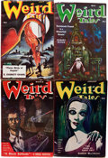 Pulps:Horror, Weird Tales Group (Popular Fiction, 1951-52) Condition: AverageVG/FN.... (Total: 12 Items)