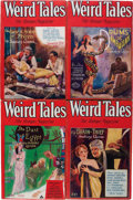 Pulps:Horror, Weird Tales Group (Popular Fiction, 1930) Condition: AverageVG+.... (Total: 6 Items)
