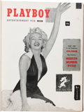 Magazines:Miscellaneous, Playboy #1-12 Bound Volume (HMH Publishing, 1953-54)....