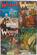 Pulps:Horror, Weird Tales Group (Popular Fiction, 1943-44) Condition: AverageVG+.... (Total: 12 Items)