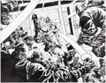 Original Comic Art:Splash Pages, David Finch and Danny Miki New Avengers #12 Double-SplashPage 6 and 7 Original Art (Marvel, 2005)....